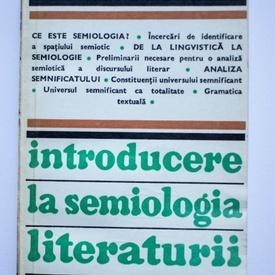 Maria Carpov - Introducere in semiologia literaturii