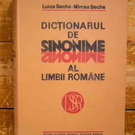 Luiza Seche, Mircea Seche - Dictionarul de sinonime al limbii romane (editie hardcover)
