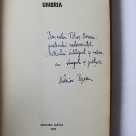 Adrian Popescu - Umbria (editie hardcover, debut, cu autograf)