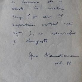 Ana Blandiana - Orase de silabe (cu autograf)