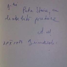 Angela Marinescu - Poezii (cu autograf)