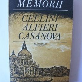 Cellini, Alfieri, Casanova - Memorii
