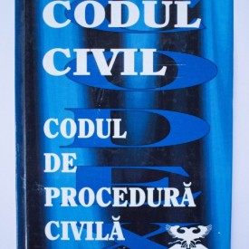 Codul civil. Codul de procedura civila (editie hardcover)
