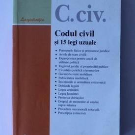 Codul civil si 15 legi uzuale