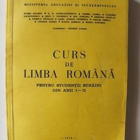 Colectiv autori - Curs de limba romana pentru studentii straini din anii I-II