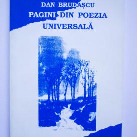 Dan Brudascu - Pagini din poezia universala