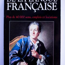 Dictionnaire de la langue Francaise. Plus de 40.000 sens, emplois et locutions
