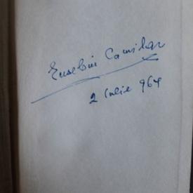 Eusebiu Camilar - Poezii (editie hardcover, cu autograf)