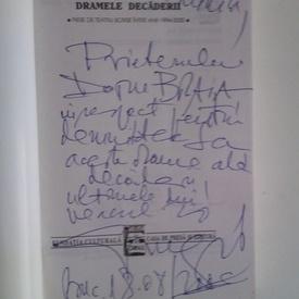 George Genoiu - Dramele decaderii (cu autograf)