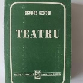 George Genoiu - Teatru (cu autograf)