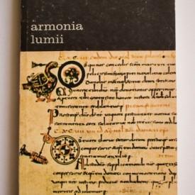 Gerard din Cenad - Armonia lumii sau talmacire a cantarii celor trei coconi catre Isingrim Dascalul