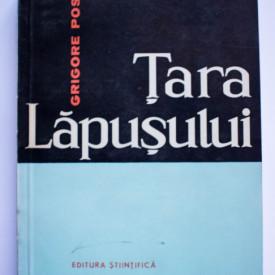 Grigore Posea - Tara Lapusului. Studiu de geomorfologie