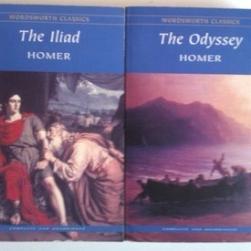 Homer - The Iliad. The Odyssey (2 vol,, editie in limba engleza)