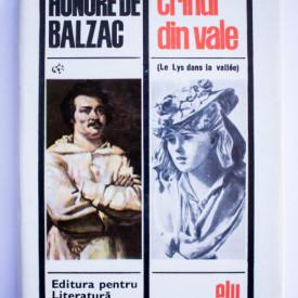 Honore de Balzac - Crinul din vale (editie hardcover)