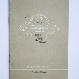 I. Belza - Simfonia a II-a (A Bogotirilor) de Borodin