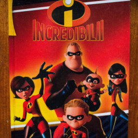 Incredibilii (album Walt Disney) (editie hardcover)