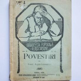 Ioan Agarbirceanu - Povestiri (editie interbelica)