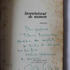 Ion Cocora - Inventatorul de numere (cu autograf)