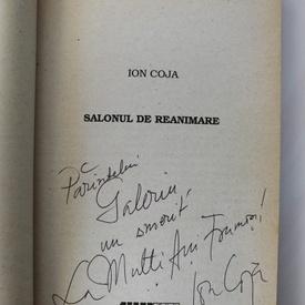 Ion Coja - Salonul de reanimare (cu autograf)
