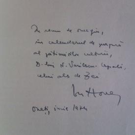 Ion Horea - Calendar (cu autograf)