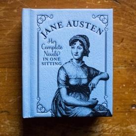 Jane Austen - Her complete novels in one sitting (editie hardcover, format liliput)