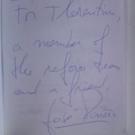 Jose Pinera - Clopotelul pisicii (cu autograf)