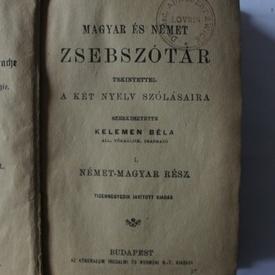 Kelemen Bela - Magyar es nemet zsebszotar (editie hardcover)
