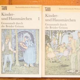 Kinder-und Hausmarchen - Gesammelt durch die Bruder Grimm (2 vol., editie in limba germana)