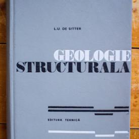 L. U. de Sitter - Geologie structurala (editie hardcover)