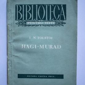 Lev Nikolaevici Tolstoi - Hagi-Murad