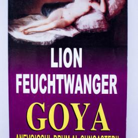Lion Feuchtwanger - Goya. Anevoiosul drum al cunoasterii