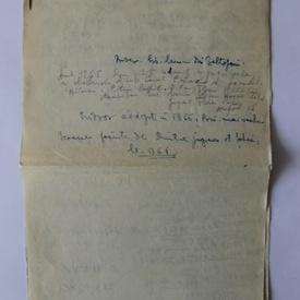 Lot manuscrise si documente semnate de istoricul Ion Ionascu