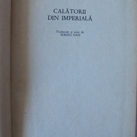 Louis Aragon - Calatorii din imperiala (editie hardcover)