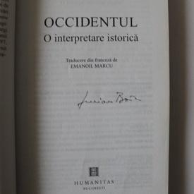 Lucian Boia - Occidentul. O interpretare critica (cu autograf)