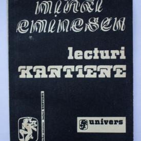 Mihai Eminescu - Lecturi kantiene. Traduceri din Critica ratiunii pure