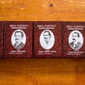 Mihai Eminescu - Scrieri esentiale (5 vol. in caseta speciala, format liliput, hardcover)