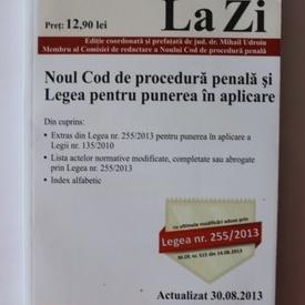 Noul cod de procedura penala si Legea pentru punerea in aplicare