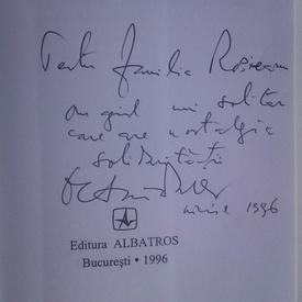 Octavian Paler - Aventuri solitare (cu autograf)