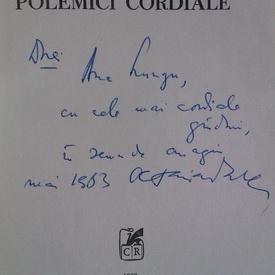 Octavian Paler - Polemici cordiale (cu autograf)