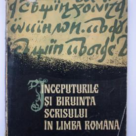 P. P. Panaitescu - Inceputurile si biruinta scrisului in limba romana