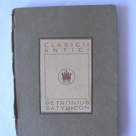 Petronius - Satyricon (editie hardcover, interbelica)