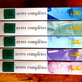 Roland Barthes - Oeuvres completes I-V (Livres, textes, entretiens) (5 vol.)