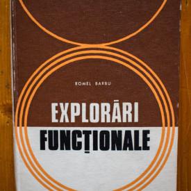 Romel Barbu - Explorari functionale (editie hardcover)