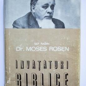 Sef Rabin Dr. Moses Rosen - Invataturi biblice (editie hardcover)