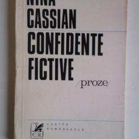 Nina Cassian - Confidente fictive (proze)