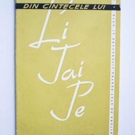 Antologie - Din cantecele lui Li-Tai-Pe (in romaneste de Adrian Maniu)