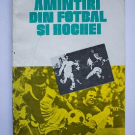 Mihai Flamaropol - Amintiri din fotbal si hochei