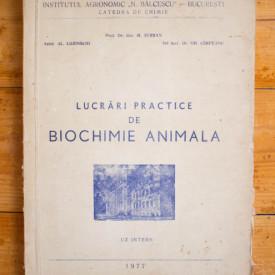 Prof. Dr. doc. M. Serban, Asis. Al. Lozinschi, Sef lucr. Dr. Gh. Cimpeanu - Lucrari practice de biochimie animala