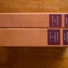 Heinrich Mann - Tineretea lui Henri IV. Implinirea si sfarsitul lui Henri IV (2 vol., editie hardcover)