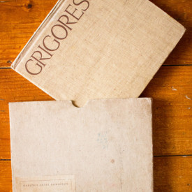Acad. George Oprescu - Nicolae Grigorescu (editie hardcover, in caseta speciala)
